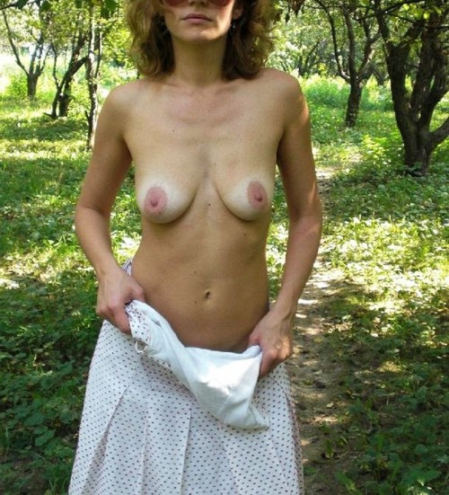 Strip dans la nature