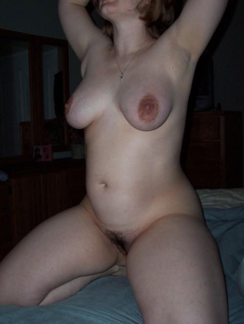 Exhibe nue d'une amatrice