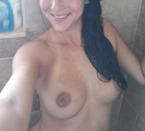 Selfie sous la douche