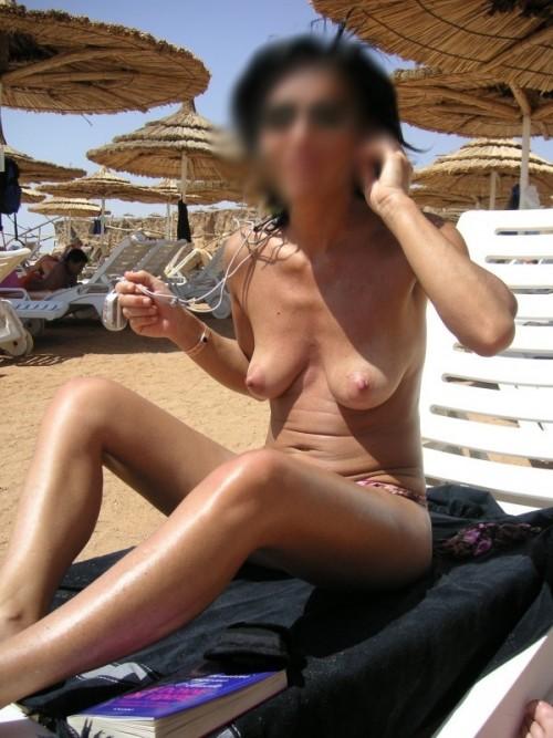 Topless à la plage