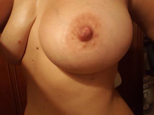 Les seins d'une cochonne