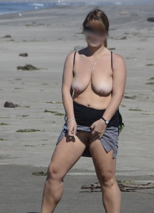exhibe en public sexe